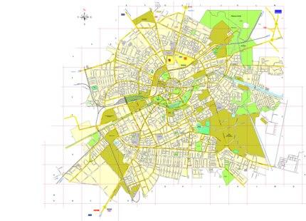 Harta Municipiului Timisoara